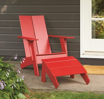 DIY Modern Adirondack Chair Plans Wooden PDF Market For Craftsman Furniture